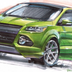 SEMA HPP Ford Escape
