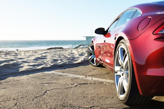 Beach8 The Fisker Karma is an Agent of Change