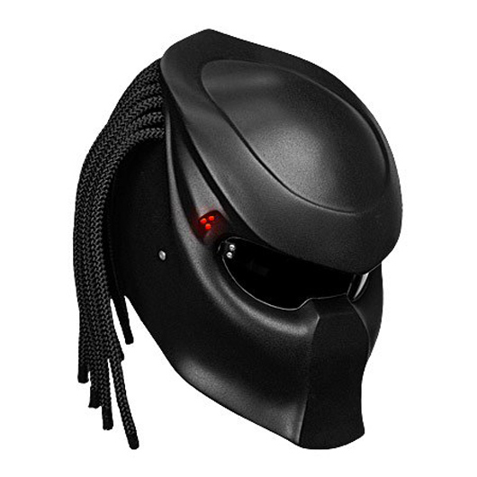 Bell Moto 9 Noir >> Insane PREDATOR MOTORCYCLE HELMET is off the chart cool… | Motor Junkies