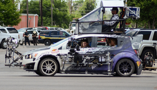 From the set of TRANSFORMERS 4 reveals some NEW CARS