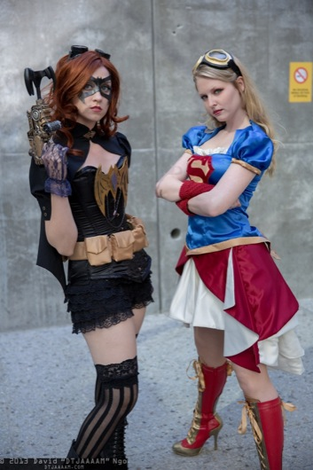 batgirl-and-supergirl_FireballTim