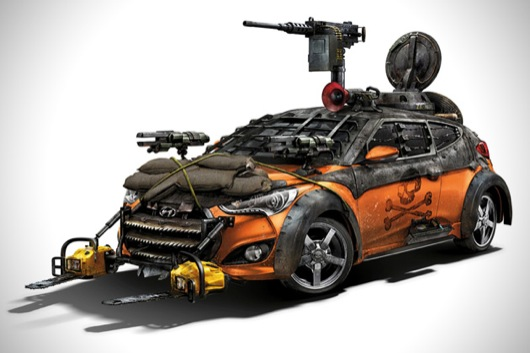 2013-Hyundai-Veloster-Zombie-Survival-Machine1-Fireball_Tim