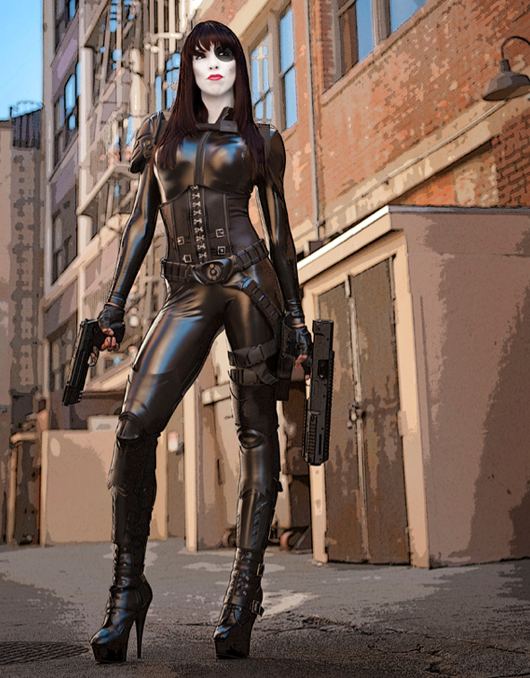 Domino-Cosplay-Fireball_Tim4