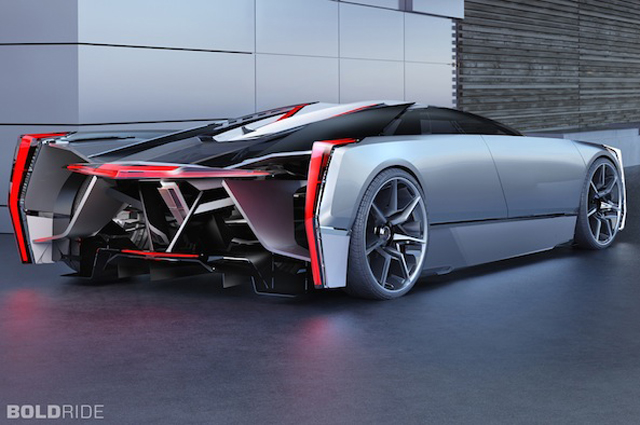 I Doing A Google For Cadillac Concepts And Found This