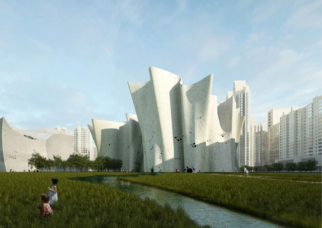 christian-kerez-guangzhou-cultural-district-belgrade-design-week-designboom-01