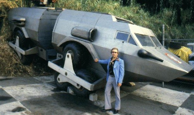 cheap garage ideas - Today's MAD MOVIE CAR… Damnation Alley baby
