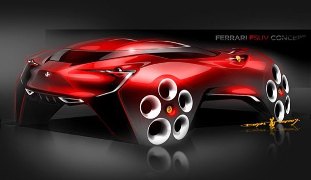 DRIVING THE FUTURE… #ConceptCar #Ferrari #Bentley #Yacht